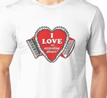 I love an accordion player 2!  T-Shirt