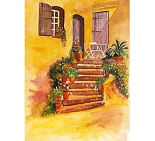 Painting by Susan and Patricia Giles Photographic Print