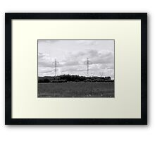 Giants of the Interlake Framed Print