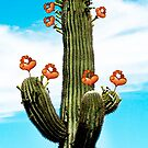 Cactus Valentine Painted by George Lenz