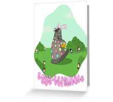 Original Art Eggs-Terminate Doctor Who  Greeting Card