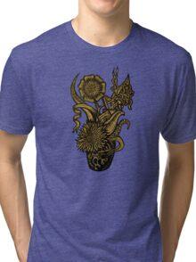 Vincent van Sharpie - Sunflower #1 Tri-blend T-Shirt