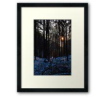 """""""Downwards"""" Framed Print"""