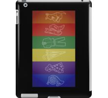 How I Met Your Colors iPad Case/Skin