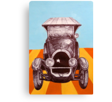 The Sheriff's Car Canvas Print