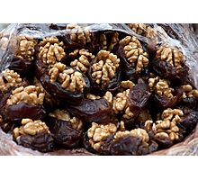 Dates And Walnuts Photographic Print