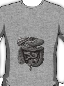 psychedelic intestines T-Shirt
