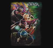 2014 TMNT Ninja Turtles movie poster shirt by Jacob King