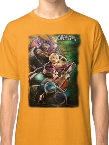 2014 TMNT Ninja Turtles movie poster shirt Classic T-Shirt