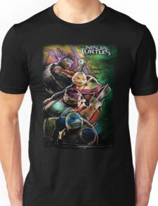 2014 TMNT Ninja Turtles movie poster shirt Unisex T-Shirt