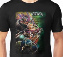 2014 TMNT Ninja Turtles movie poster shirt Unisex T-Shirt