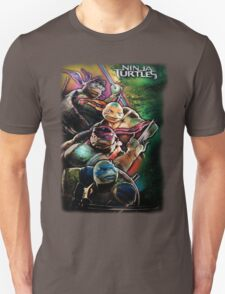 2014 TMNT Ninja Turtles movie poster shirt T-Shirt