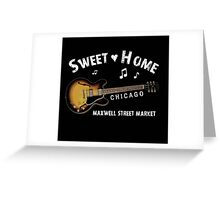 Sweet Home Chicago T-Shirt Greeting Card