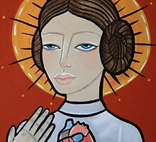 Princess Leia as Virgin Mary by Stolensouljess