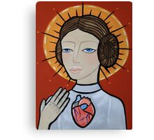 Princess Leia as Virgin Mary Canvas Print