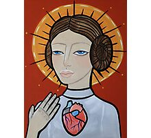 Princess Leia as Virgin Mary Photographic Print