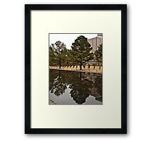 Reflections in OKC Framed Print