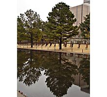 Reflections in OKC Photographic Print