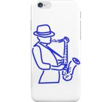 Jazz Man iPhone Case/Skin