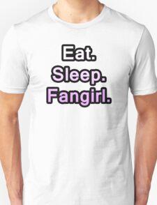 Eat. Sleep. Fangirl. T-Shirt