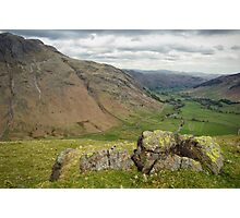 The Langdale Valley Photographic Print