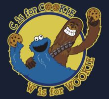 Cookie & Wookie One Piece - Short Sleeve