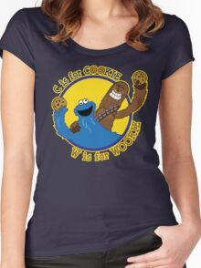 Cookie & Wookie Women's Fitted Scoop T-Shirt