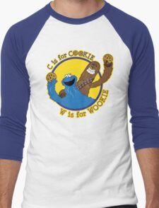 Cookie & Wookie Men's Baseball ¾ T-Shirt