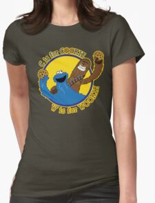 Cookie & Wookie Womens Fitted T-Shirt
