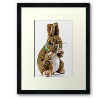 Proffesor Hop Framed Print
