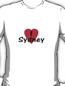 I Love Sydney Australia - T-Shirt & Sticker T-Shirt