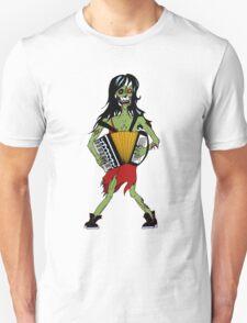Undead Squeezebox Chanteuse! Unisex T-Shirt