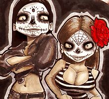 Monica and Shelly las muertas by pablowapsi