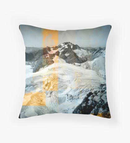 Aletschgebiet 1945 Throw Pillow