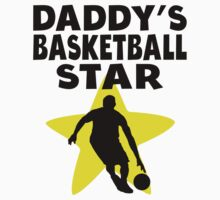 Daddy's Basketball Star One Piece - Short Sleeve