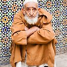 Portrait of a Moroccan Man  by Robert Kelch, M.D.