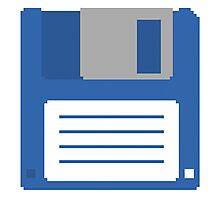 Floppy Disk T Shirt Photographic Print