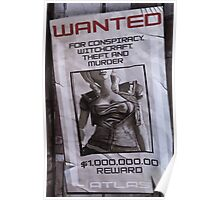 Lilith Wanted Poster  Poster