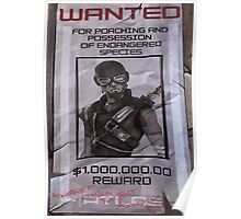 Mordecai Wanted Poster  Poster