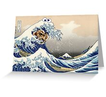 The Great Cookies off Kanagawa Greeting Card