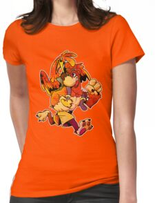 BANJO AND KAZOOIE Womens Fitted T-Shirt