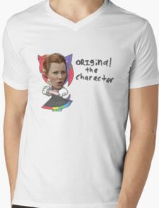 Original the Character - Tauriel from the Hobbit Mens V-Neck T-Shirt