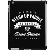 Stand Up Paddle Extreme Sport White Design Art iPad Case/Skin