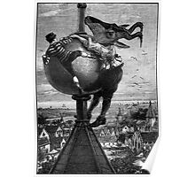 The Big Fight at the Top of the Flushing Steeple.. Poster