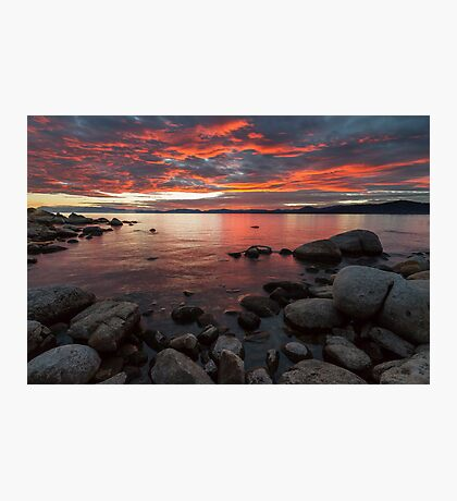 Close of the Day - Lake Tahoe Photographic Print