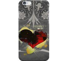 The Black Heart iPhone Case/Skin