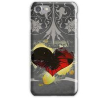 The Black Heart iPhone Case/Skin
