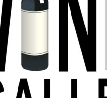 Wine for Breakfast (for Light Products) Sticker