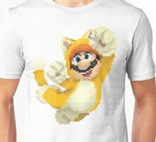 Super Mario 3D World - Cat Mario Pixel Art Unisex T-Shirt