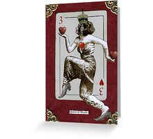 Queen of Hearts Valentine Greeting Card